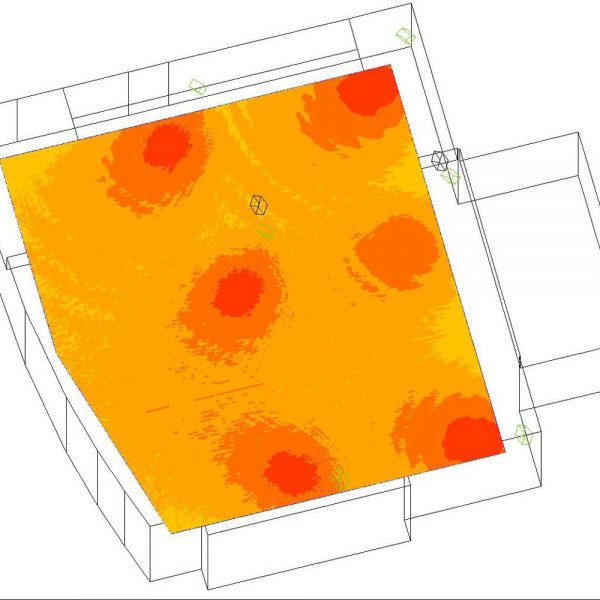 Raumakustik-Simulation